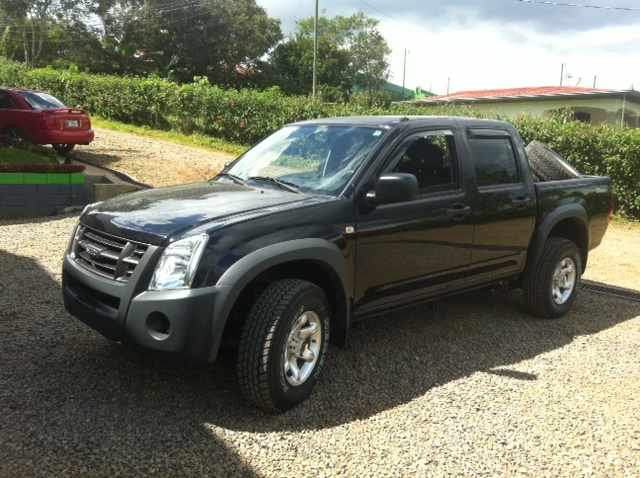 After-Isuzu D\'max