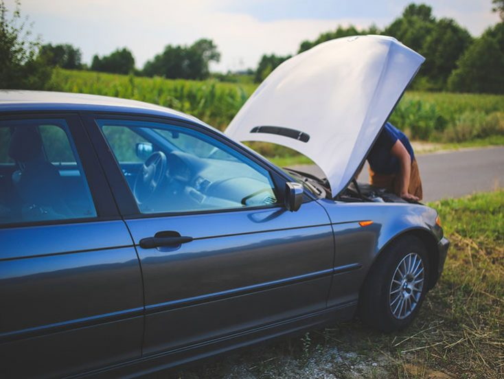 ¿Qué hacer si choqué mi vehículo?