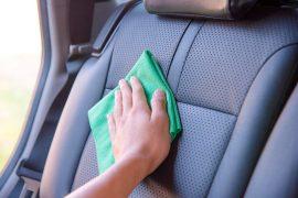 Tapicería del auto